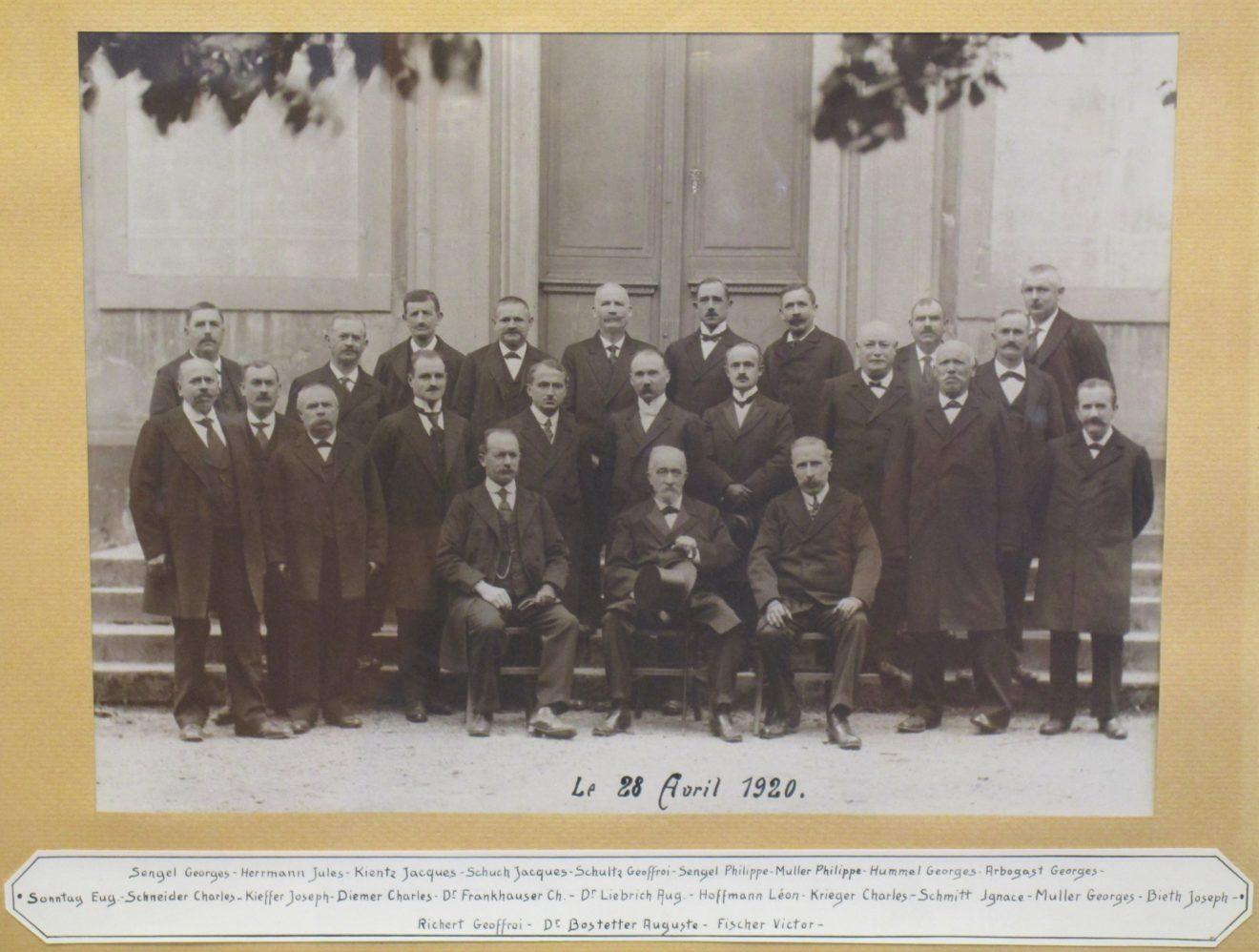 élections municipales il y a 100 ans