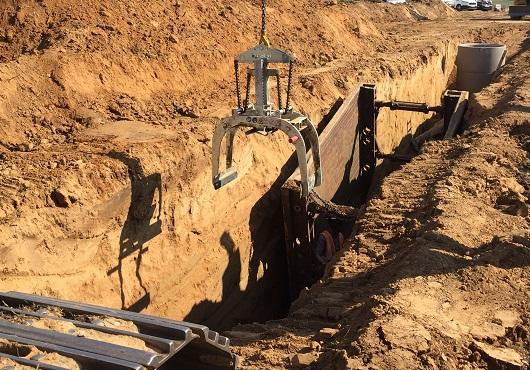 Lutte contre les coulées de boue à Brumath