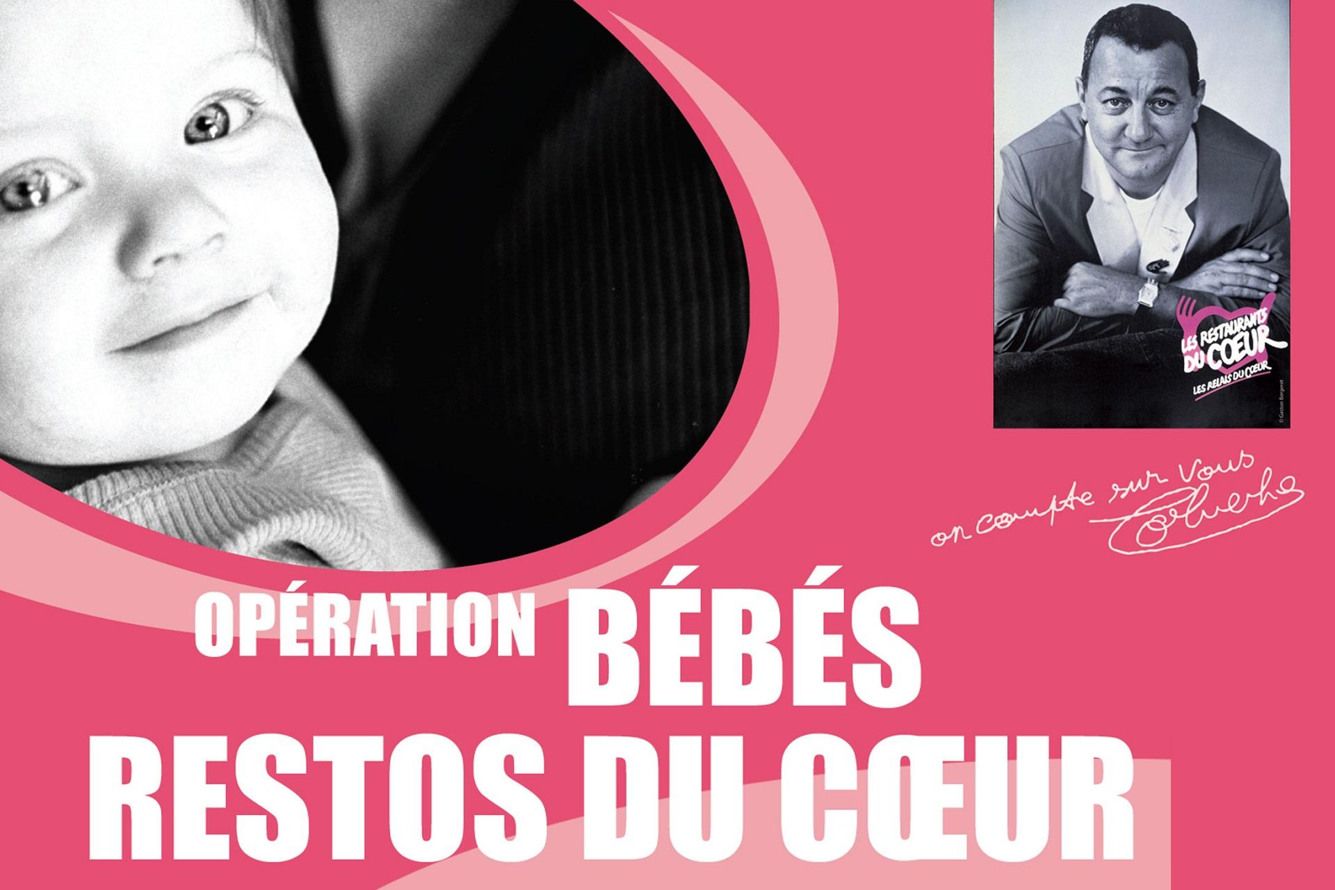 """Opération """"Bébés du coeur"""" à Brumath."""