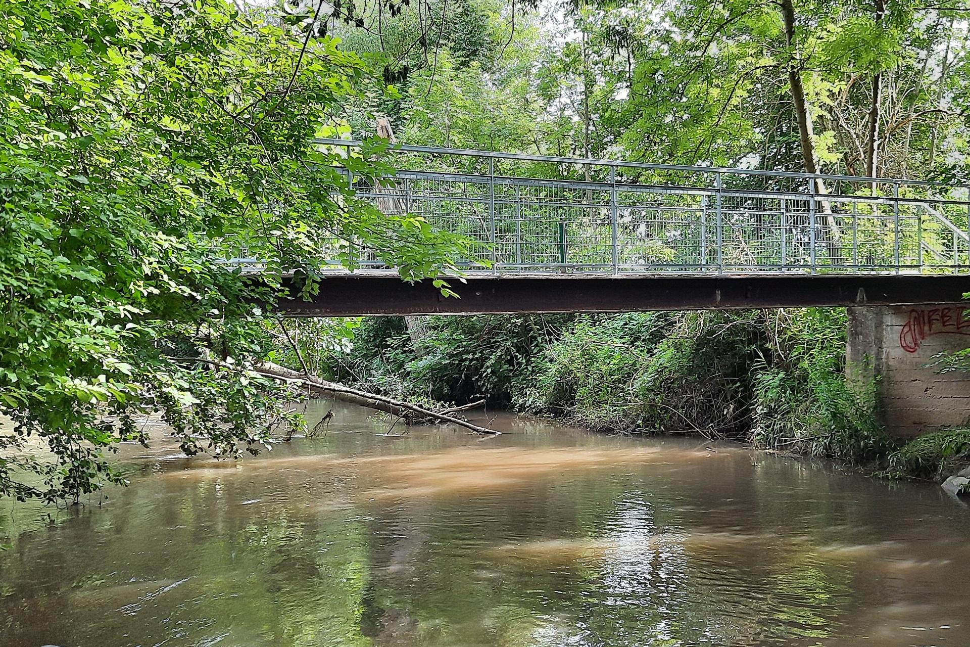 Sécurisation du pont de la Zorn.
